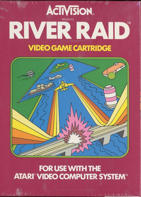 River Raid - Box Front