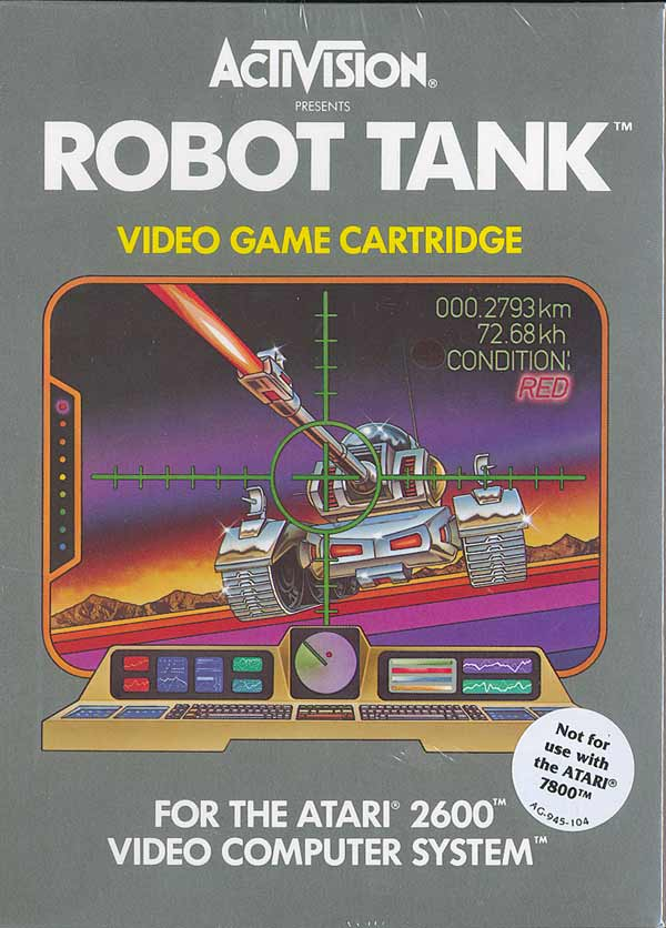 Robot Tank - Box Front