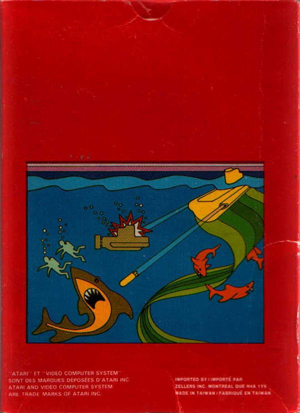 Scuba Diver - Box Back