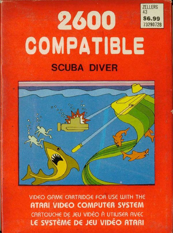 Scuba Diver - Box Front
