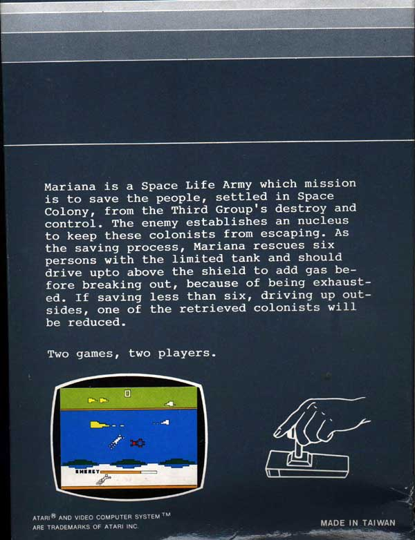 Sea Quest - Box Back