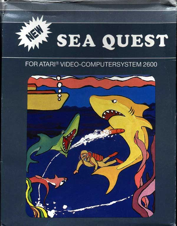 Sea Quest - Box Front