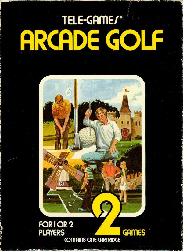 Arcade Golf - Box Front