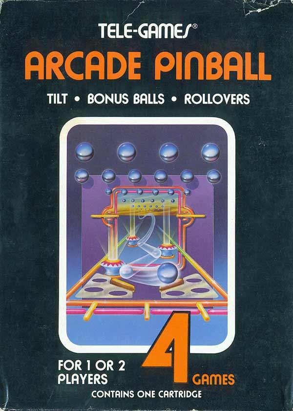 Arcade Pinball - Box Front