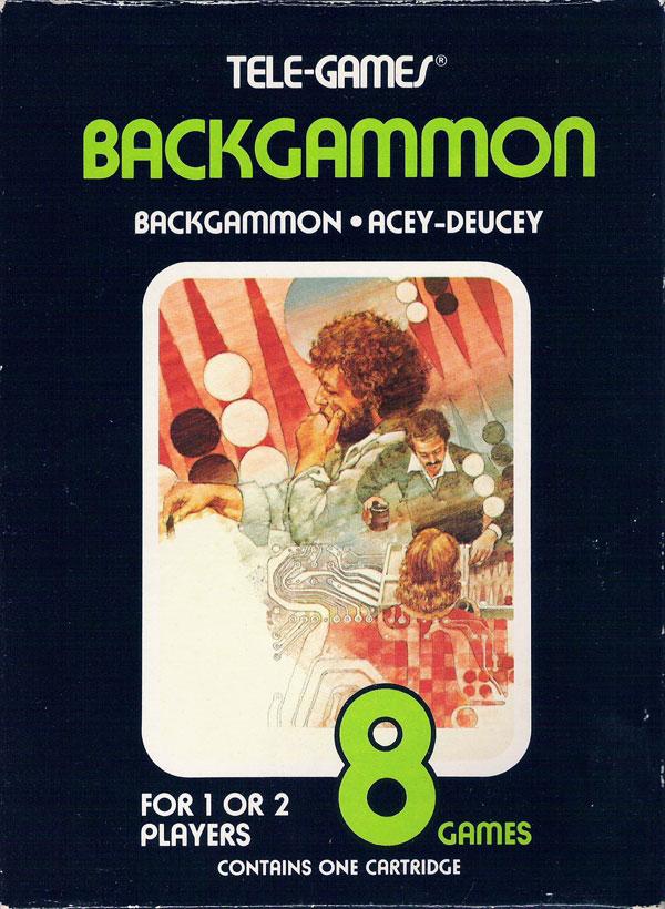 Backgammon - Box Front
