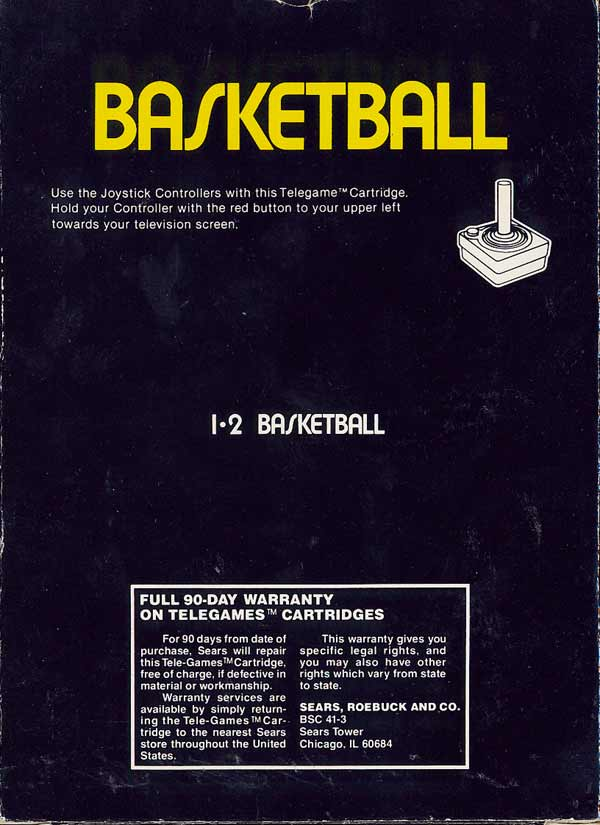 Basketball - Box Back