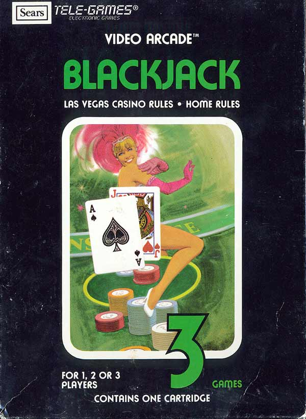 Blackjack - Box Front