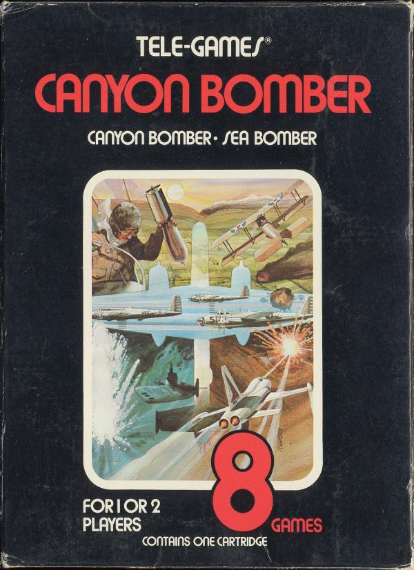 Canyon Bomber - Box Front