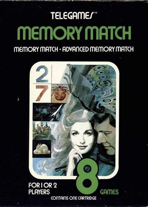 Memory Match - Box Front