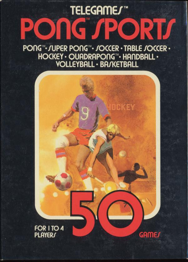 Pong Sports - Box Front