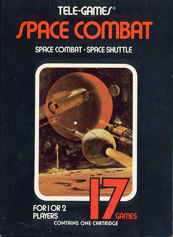 Space Combat - Box Front