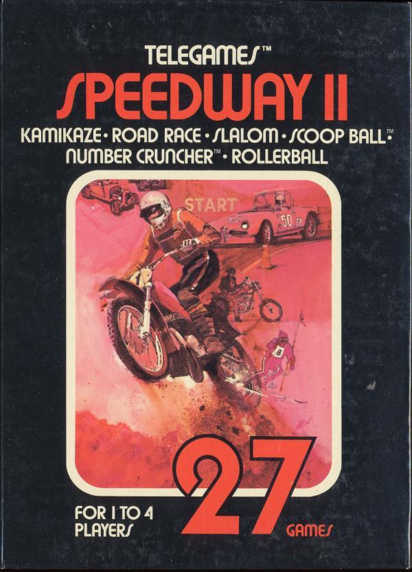 Speedway II - Box Front