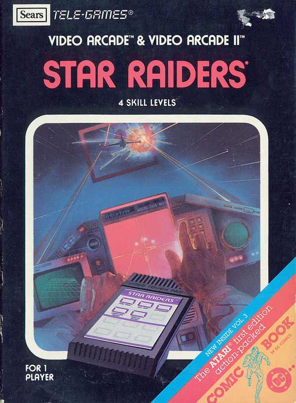 Star Raiders - Box Front