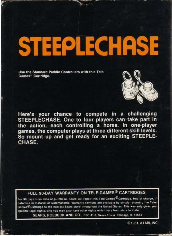 Steeplechase - Box Back
