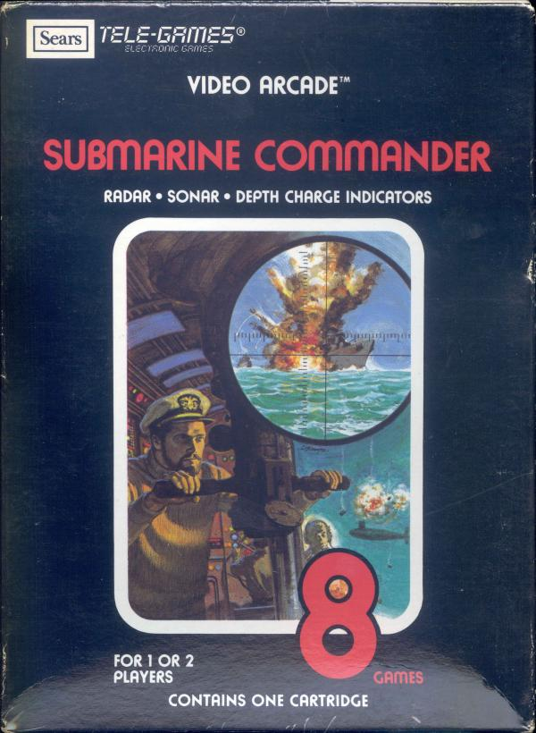 Submarine Commander - Box Front