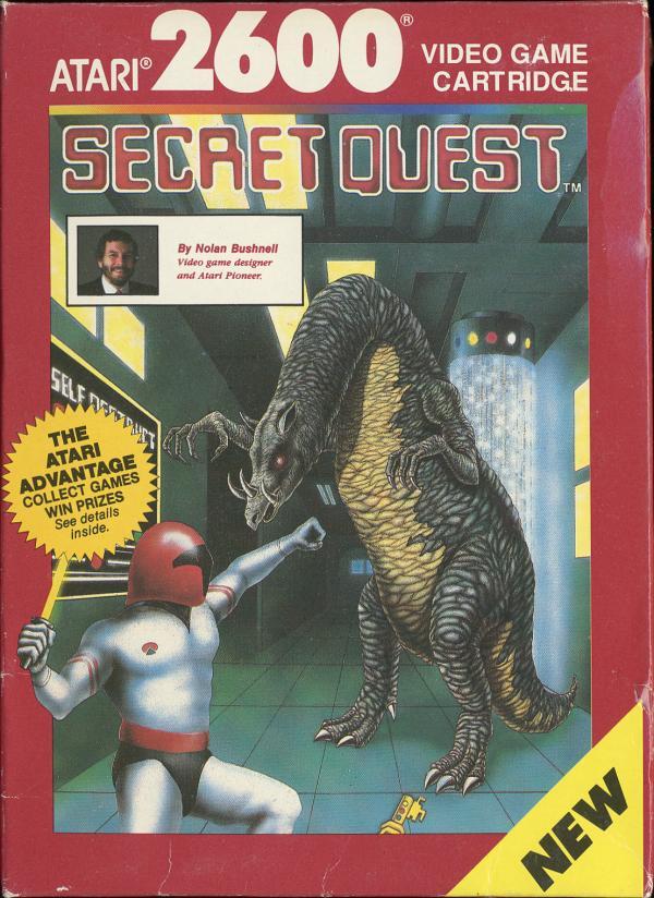 Secret Quest - Box Front