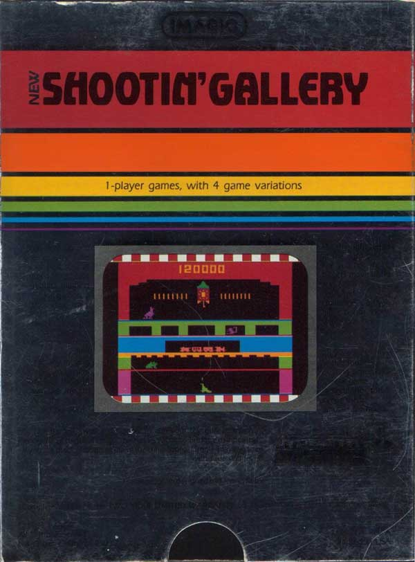 Shootin' Gallery - Box Back