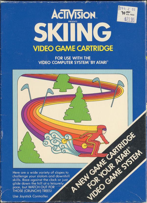 Skiing - Box Front