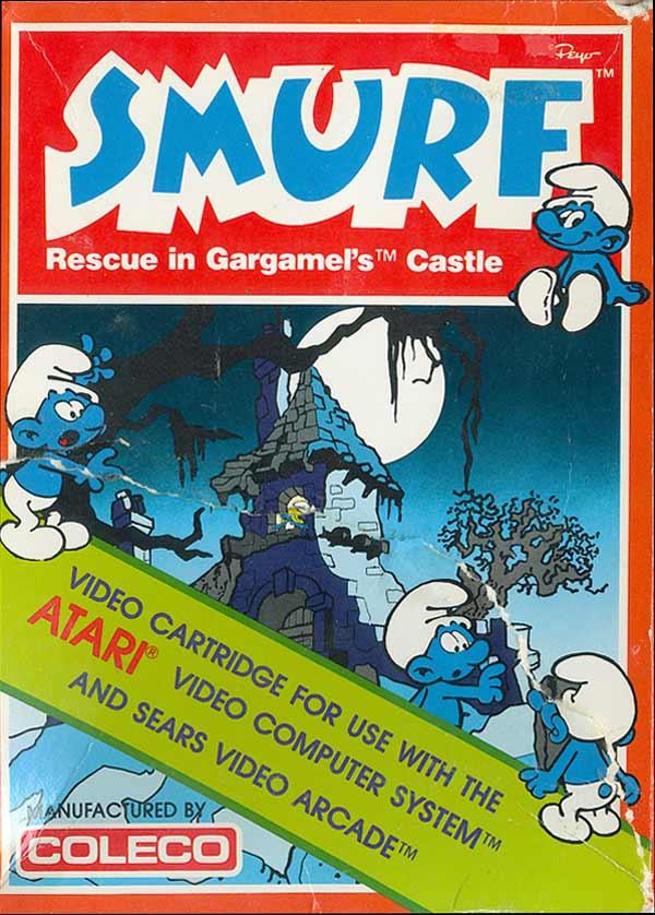 Smurfs: Rescue in Gargamel's Castle - Box Front