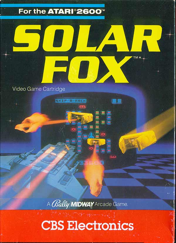 Solar Fox - Box Front