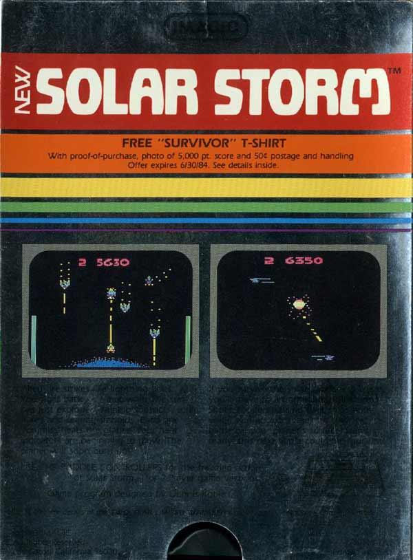 Solar Storm - Box Back