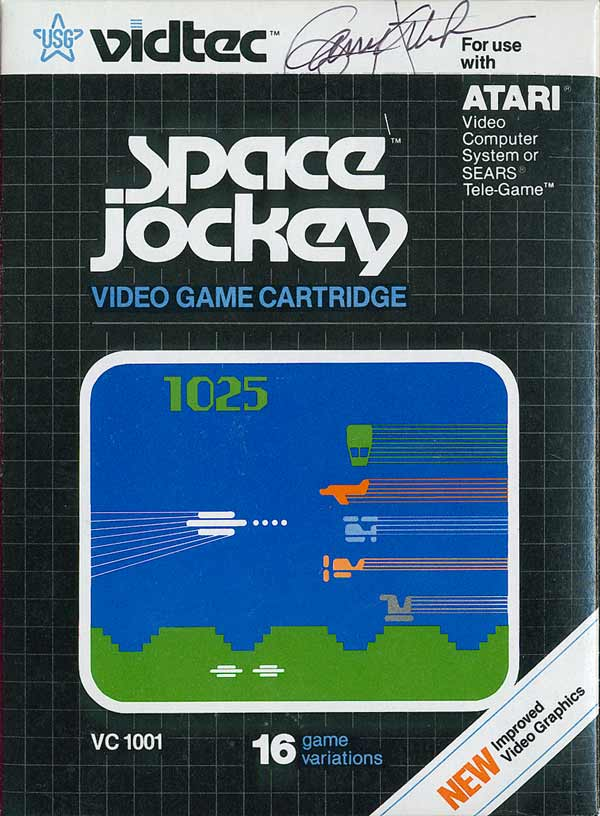 Space Jockey - Box Front