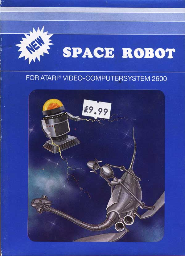 Space Robot - Box Front