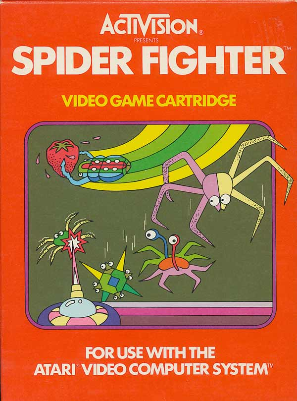 Spider Fighter - Box Front