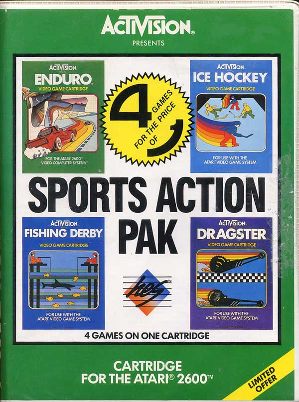 Sports Action Pak - Box Front