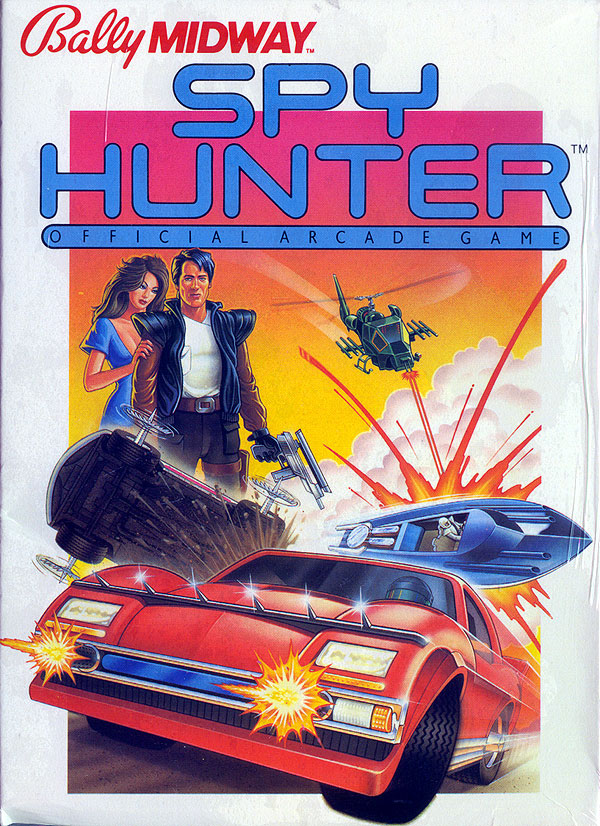 Spy Hunter - Box Front