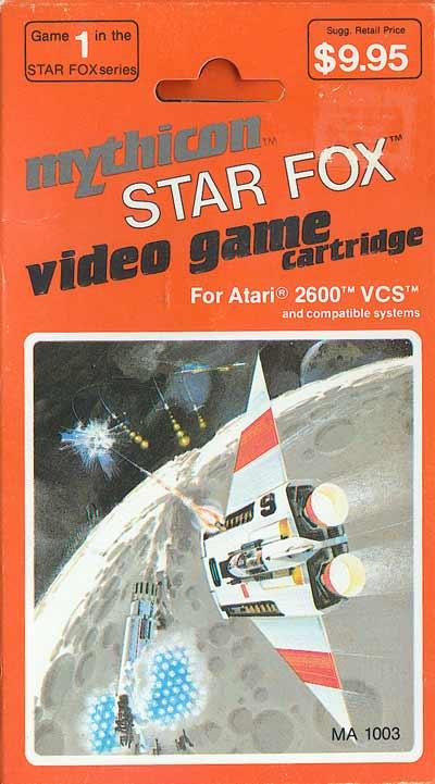 Star Fox - Box Front