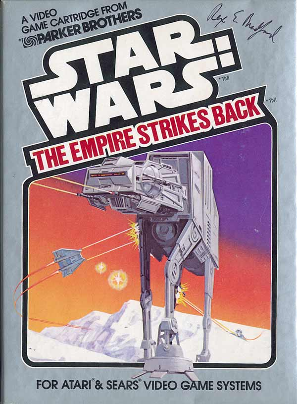 Star Wars: The Empire Strikes Back - Box Front