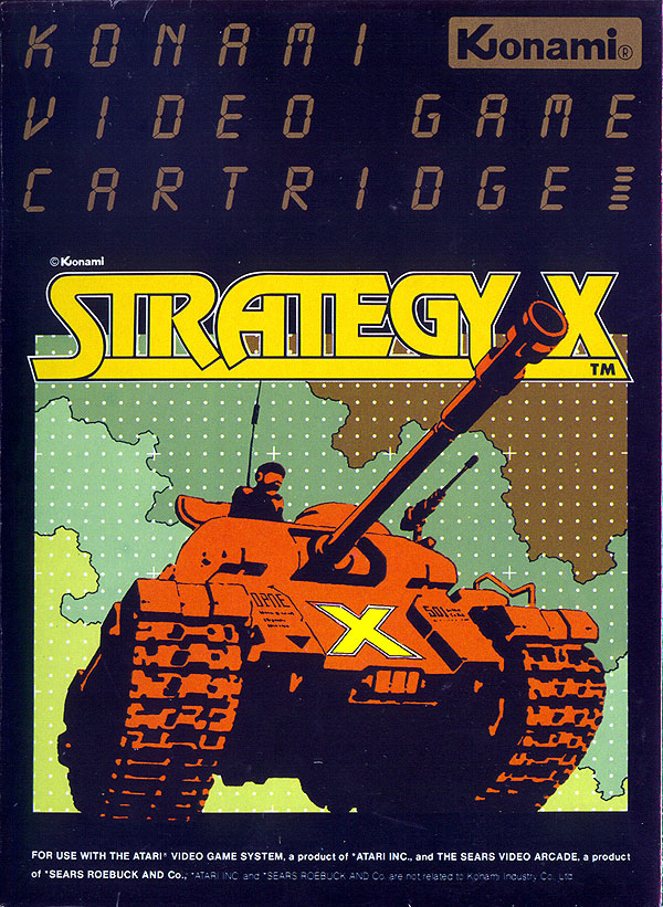Strategy X - Box Front