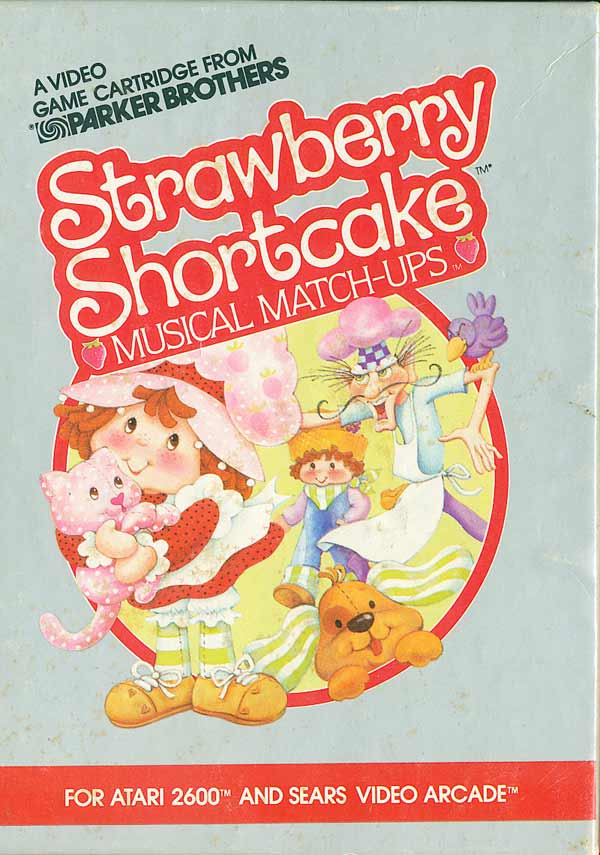 Strawberry Shortcake Musical Matchups - Box Front