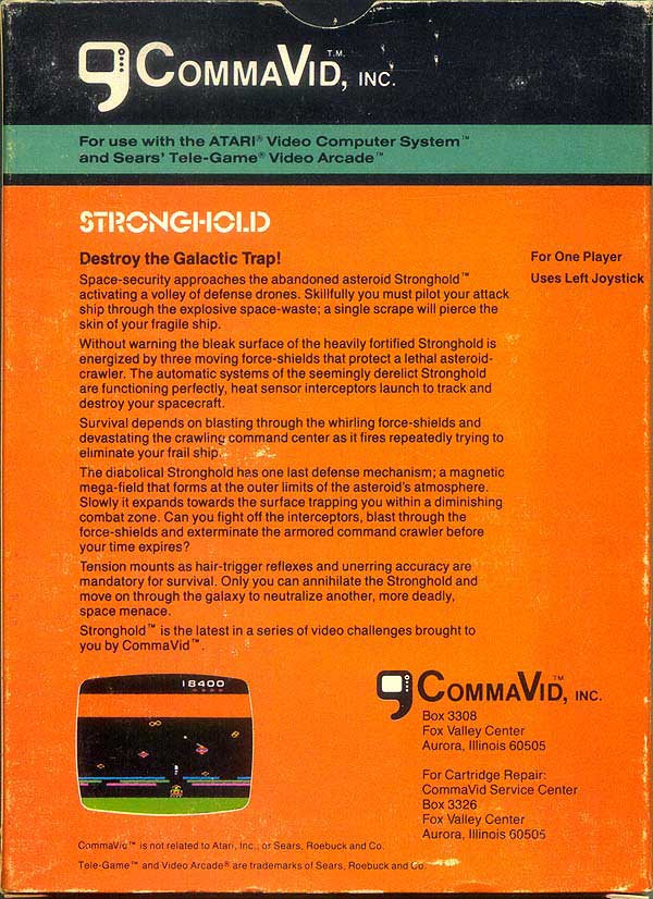 Stronghold - Box Back
