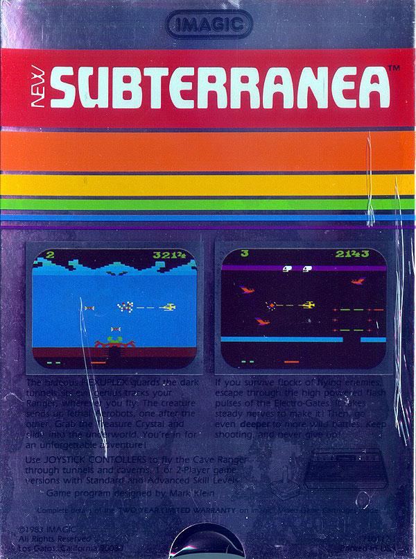 Subterranea - Box Back