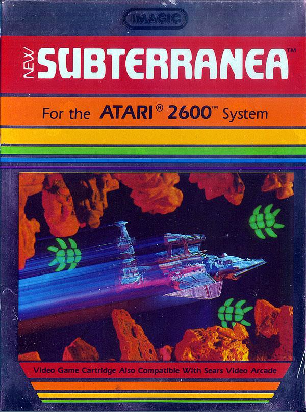 Subterranea - Box Front