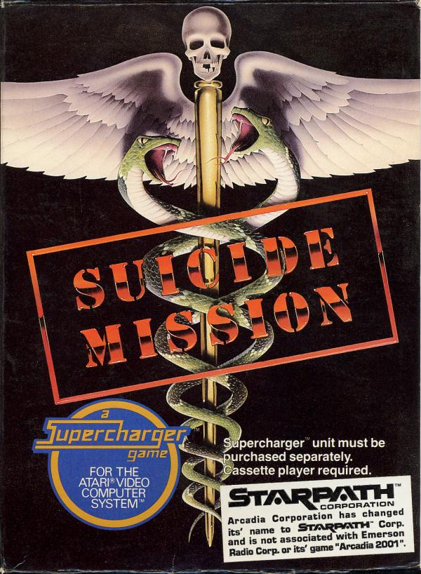 Suicide Mission - Box Front