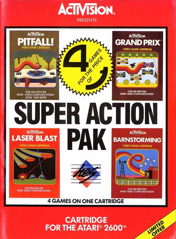 Super Action Pak - Box Front