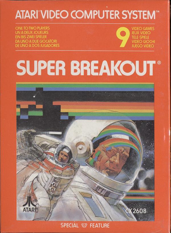 Super Breakout - Box Front