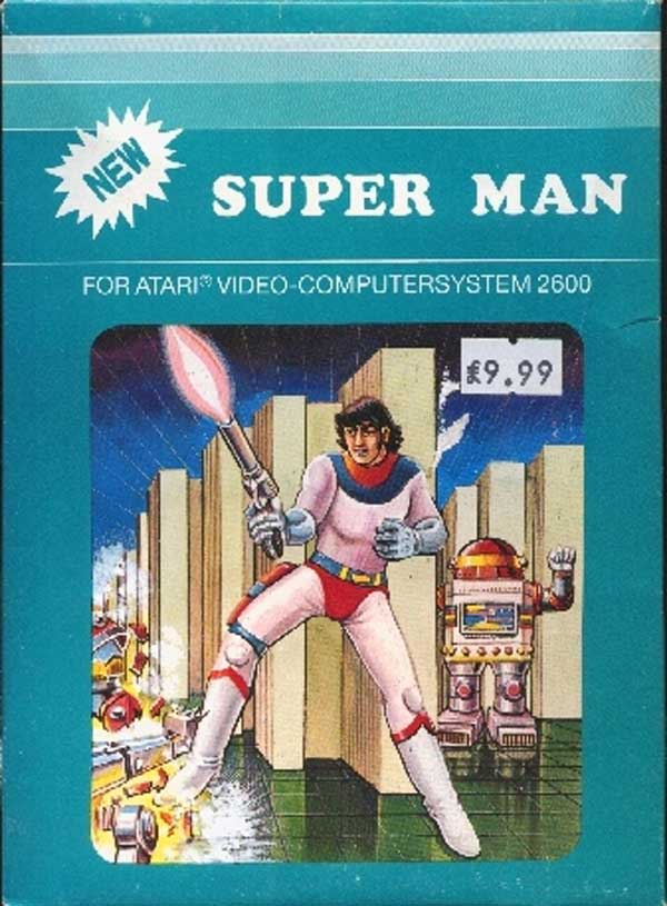 Super Man - Box Front