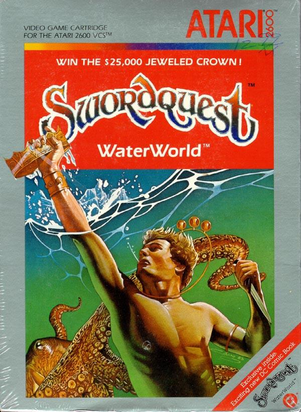 Swordquest: Waterworld - Box Front