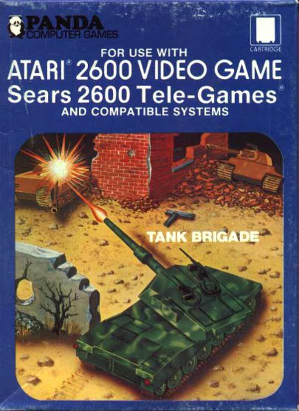Tank Brigade - Box Front
