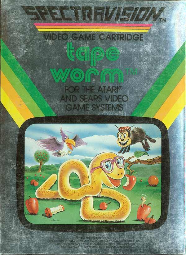 Tapeworm - Box Front