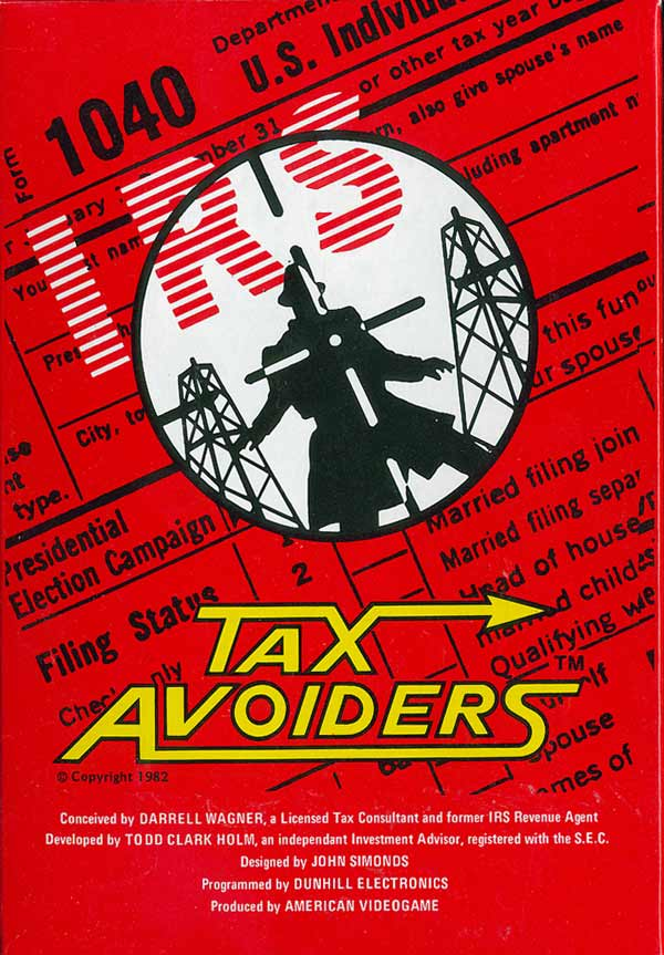 Tax Avoiders - Box Front