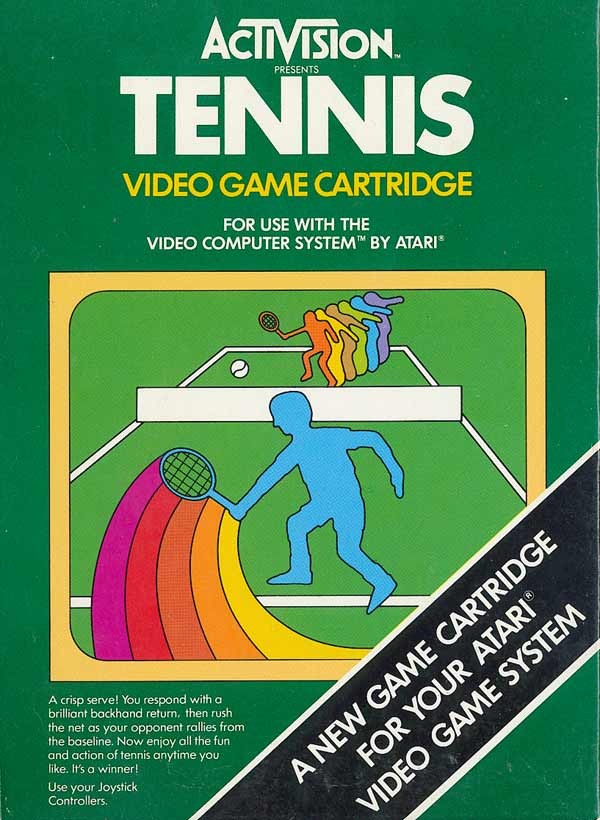 Tennis - Box Front