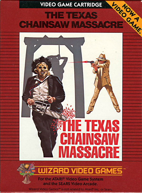 Texas Chainsaw Massacre - Box Front