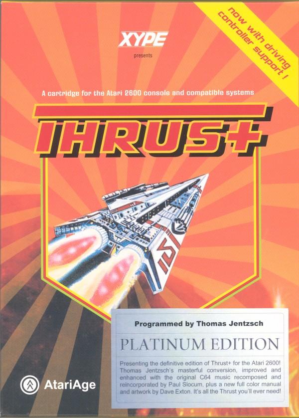 Thrust+ Platinum - Box Front