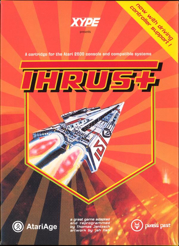 Thrust+ DC Edition - Box Front