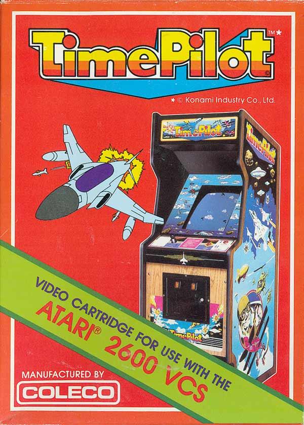 Atariage Atari 2600 Boxes Time Pilot Coleco